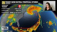 Landfall is imminent for Atlantic Canada, latest Teddy details here