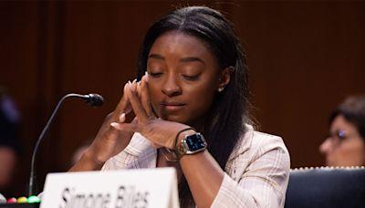 Simone Biles Gives Emotional Testimony at Senate Hearing on FBI's Handling of Nassar Investigation