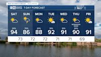 MOST ACCURATE FORECAST: Storm chances ramping up this weekend