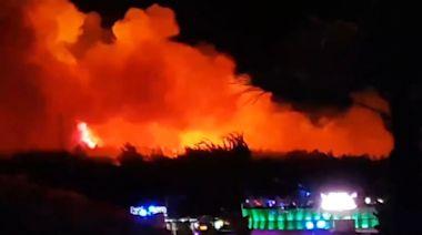 Croatia's Fresh Island music festival ends when fire breaks out at Zrce Beach