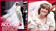 Princess Diana's Royal Wedding Gown Designer Spills Secrets From Working With The Royal