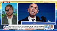 Crenshaw calls for Mayorkas' impeachment amid border crisis: 'Deliberate dereliction' of duty