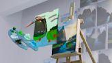 NVIDIA 的 Canvas app 能靠 AI 把你的塗鴉變成逼真的圖像