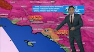 Latest weather with Tony Cabrera