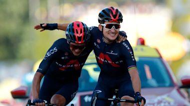 Tour de France: Michal Kwiatkowski wins stage 18