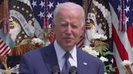 Biden makes an unexpected and cheeky admission