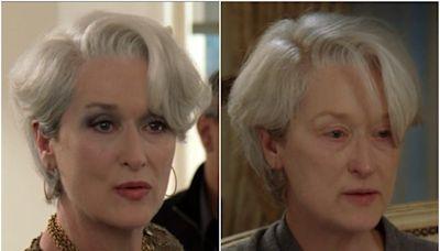 Meryl Streep said she gave up method acting after 'The Devil Wears Prada' because being Miranda Priestly made her 'depressed'