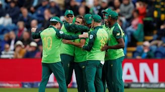 South Africa ease to first World Cup win - Reuters