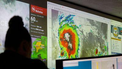 Nicholas upgraded to hurricane, expected to soak Texas Gulf Coast