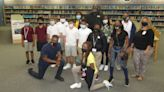 AEW Community Outreach Team in South Florida with Capt. Shawn Dean, Mark Henry, Red Velvet
