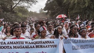 Ethiopia says some 1,000 Oromo rebels give up arms
