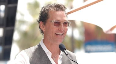 Matthew McConaughey explains why he's inspired by Marc Benioff's 'new capitalism'