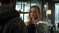 See Brie Larson's First Day Ever as Captain Marvel as She Greets Cast in Costume