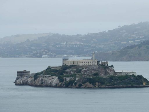 Island prison turns into refuge for man whose boat sank in San Francisco, officials say