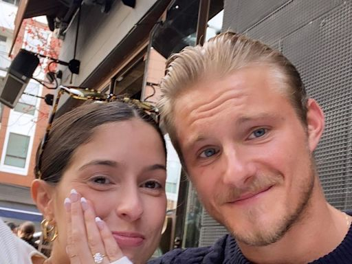 Alexander Ludwig Says He's 'Luckiest Man' After Engagement to Girlfriend Lauren Dear — See the Ring!