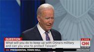 影/中國攻台美會防衛台灣?拜登:是!我們有過承諾