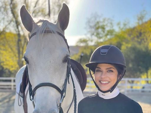 Selma Blair Can't 'Stop Smiling' About Being Able to Ride Horses Again: 'I Want to Rise to the Occasion'