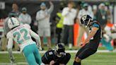 Jaguars end 20-game losing streak on Matthew Wright's 53-yard field goal vs. Dolphins