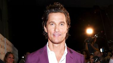 Matthew McConaughey's 12-Year-Old Son Looks Just Like His Dad in Rare Pic