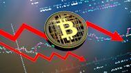 Dow futures drop over 500 points, Bitcoin falls below $33K