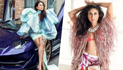 Kareena Kapoor Khan's Sultry Expressions and Dramatic Attires Make for a Lethal Combination in her New Photoshoot (View Pics)
