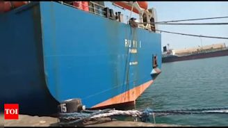 Coronavirus in Tamil Nadu: Tuticorin port officials deny rumours of negligence in handling ship that had called on Chinese ports | Chennai News - Times of India