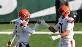 Browns Vs Bears highlight: Mayfield to Hooper TD pass
