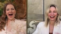 Drew Barrymore Celebrates Birthday With Cameron Diaz
