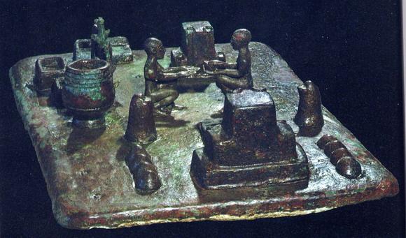 sit shamshi musée du louvre parís tabla de bronce que parece resumir ...