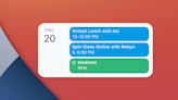 Google details Calendar, Drive, and Chrome iOS widgets on the way