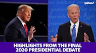Highlights from the final 2020 presidential debate