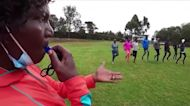 Refugee runners rev up for Olympics