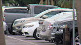 Cars in Cape Coral plaza covered with silicone overspray - NBC2 News