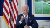 Biden cools Democratic fever over domestic agenda, but can't cure it