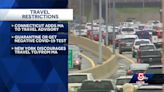 Neighboring states announce travel restrictions