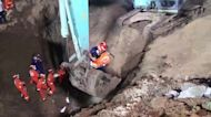 Firefighters rescue toddler who fell into deep tube well in northern China
