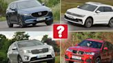 Best used large SUVs for less than £25,000