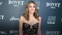 Elizabeth Hurley enjoyed a well-deserved night on the town, her first in more than a year, to the ballet.