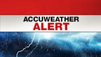 AccuWeather Alert: Heavy rain, gusty winds