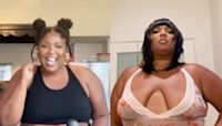 Lizzo celebrates being six months vegan with TikTok video: 'Love yourself at all stages in your life'