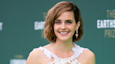 Emma Watson's latest look is made from recycled wedding dresses
