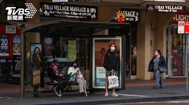 雪梨封城將滿月確診再破紀錄 千人反封鎖示威│TVBS新聞網