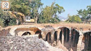 逾百年主教山配水庫險毀 議員請願批古蹟辦監察不力