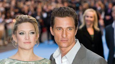 Kate Hudson Reveals Why She Didn't Love Kissing Matthew McConaughey