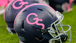 Georgia Southern suspends player for chugging beer atop moving team bus