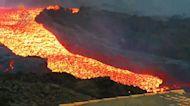 Crece la emisión de lava y superficie afectada sin más evacuaciones previstas