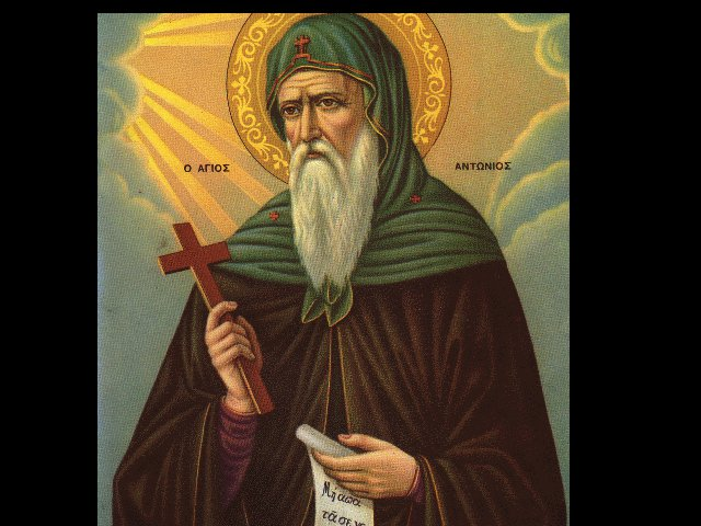 Orthodox Societies: Saint Anthony The Great - Father of the Monks