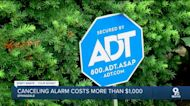 Canceling alarm costs more than $1,000
