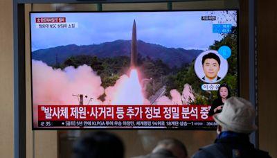 動作頻頻,北韓再度朝日本海試射兩枚彈道飛彈