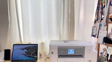 圍棋女神黑嘉嘉代言的 MFC-J4540DW家用印表機實測